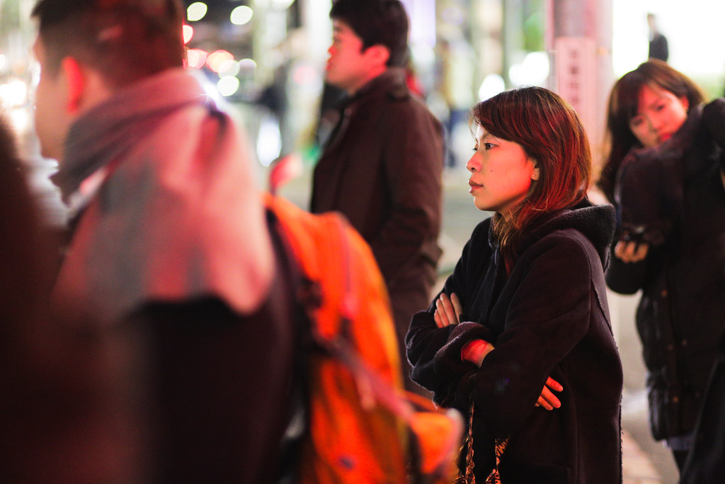 Hiro 5 Chome, Tokyo, Shibuya-ku, Tokyo Prefecture, Japan, 0.013 sec (1/80), f/1.8, 85 mm, EF85mm f/1.8 USM