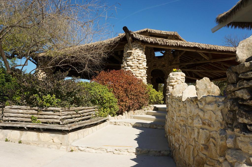 San Antonio Japanese Tea Garden Landscape Voice