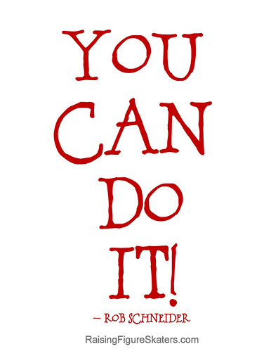 """You Can Do It"" Word Art Freebie"