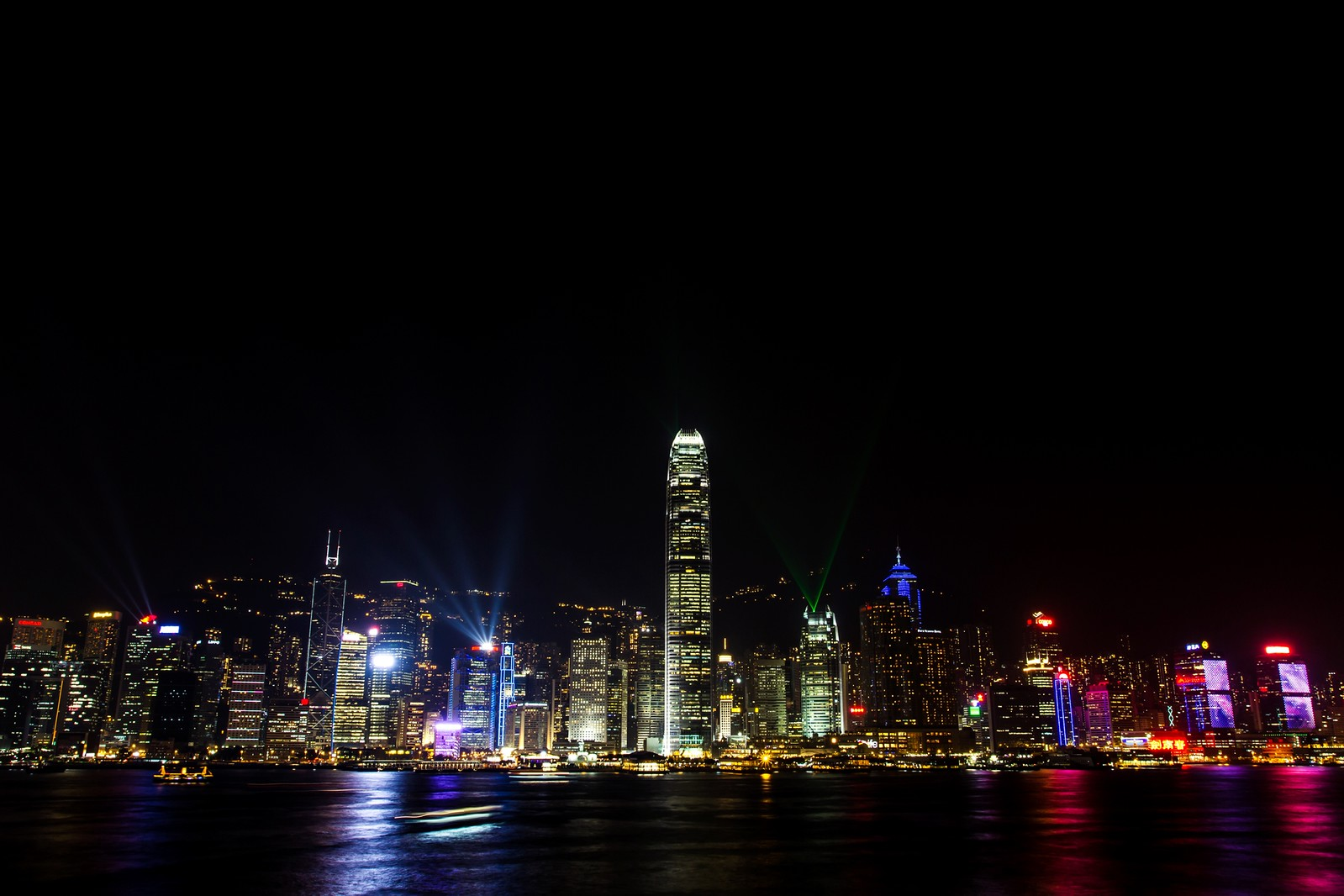 The Beautiful City Of Hong Kong