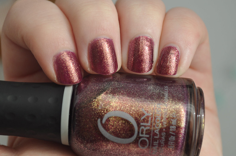 orly rock the world nail polish notd