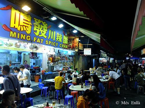 Mercado nocturno de Hong Kong