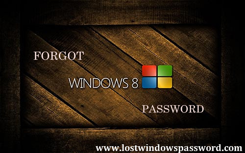 forgot password windows 8