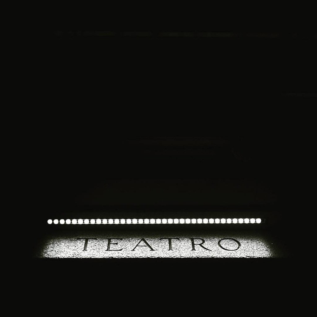 At The Theater #filodrammatici #nerds #sintomi #teatrofilodrammatici #Theater #n.e.r.d.s. #docx #blackandwhite #night #dark #milano #igersmilano #writing