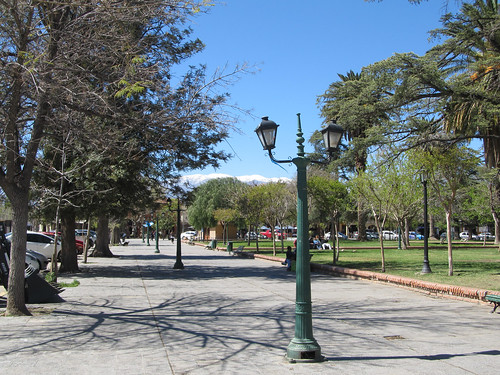 Cafayate: la Plaza San Martín