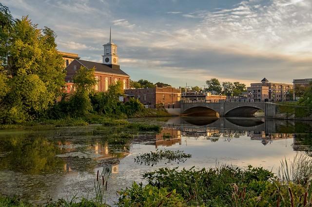 September Morning Light on the River
