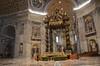 The Papal Altar & Baldacchino