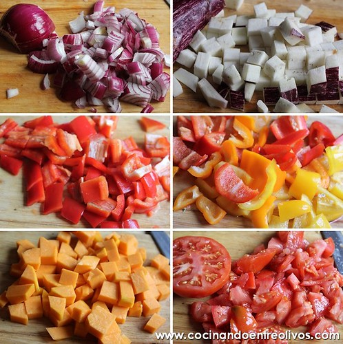 Caponata siciliana www.cocinandoentreolivos.com (21)