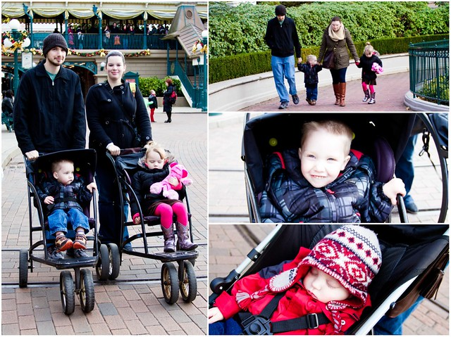 Disneyland Paris Day Collage