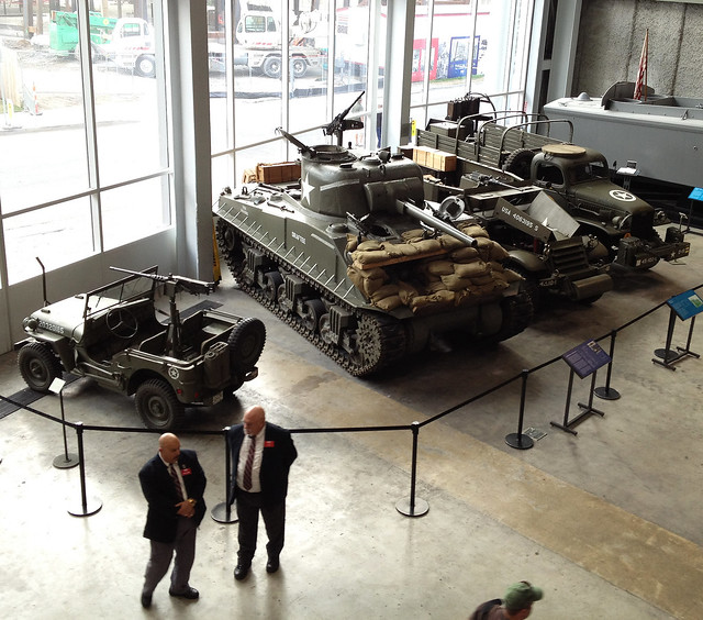 New Orleans WWII Museum Tanks