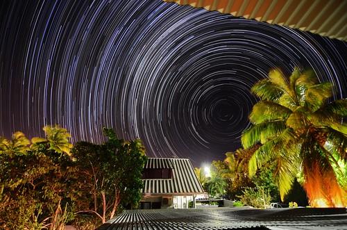 les night la nikon tokina nuit f28 startrails bains étang 1116mm d7000 réunion étoiles salé