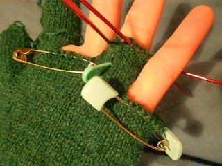 перчатка в булавках прогресс