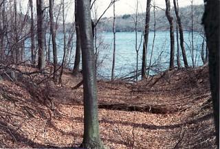 Peninsula Road into Lake