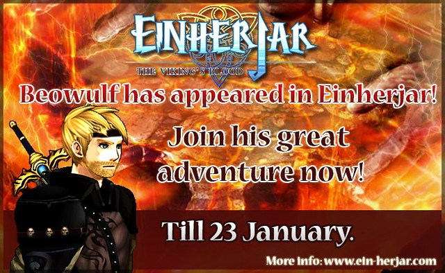 Adventure with Beowulf in Einherjar - The Viking's Blood