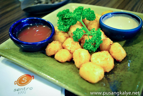 fried kesong puti @Sentro