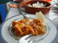 comida canaria - Gófio escaldado
