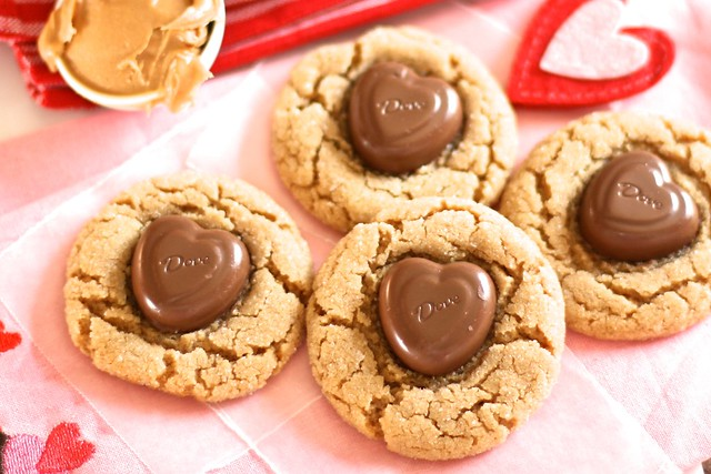 Valentines Peanut Butter Cookies 001