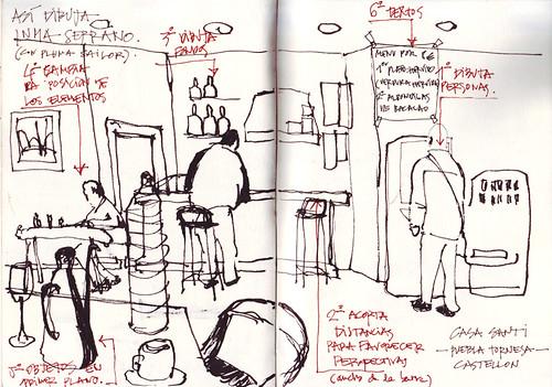 Clermont-Ferrand: Como dibuja Inma Serrano