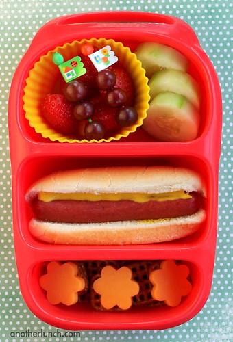 Hotdog bynto lunch