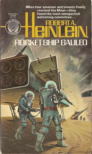Robert A. Heinlein - Rocketship Galileo (Ballantine Del Rey 1977)