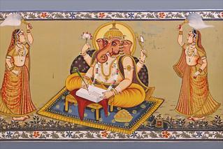 Image of Mehrangarh near Jodhpur. ganesha religion ganesh ganapati inde jodhpur meherangarh hindouisme dalbera