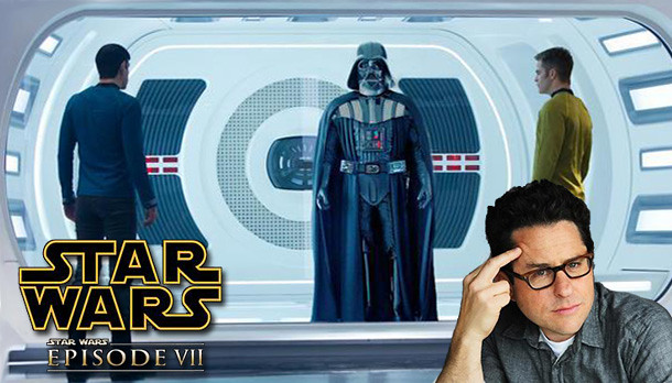 Star Wars VII - Darth Vader, Spock e Capitão Kirk se encontram