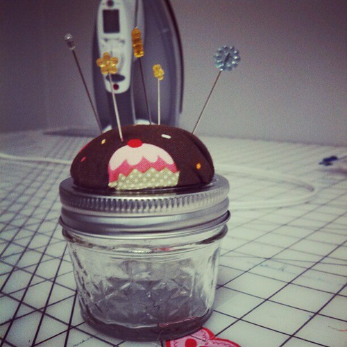 Mini pin cushion!