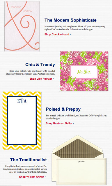What's Your Stationery Style?