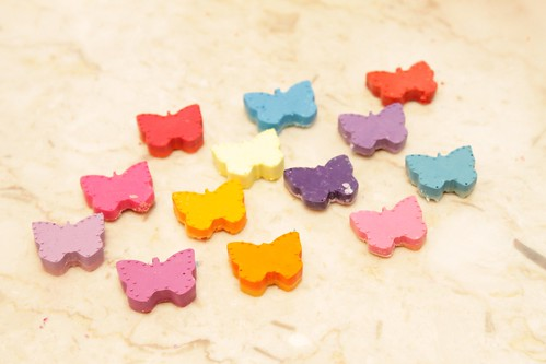 Butterfly Rainbow Crayons
