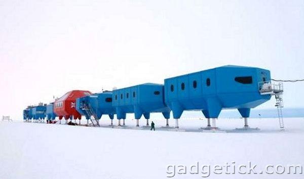 Футуристическая антарктическая станция