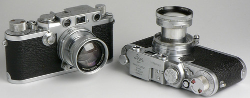 Leica IIIf (1952), Leica IIf (1955), Summicron 50mm f/2, Summitar 50mm f/2 by Manual Camera