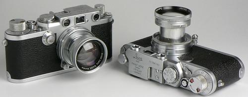 Leica IIIf (1952), Leica IIf (1955), Summicron 50mm f/2, Summitar 50mm f/2 by Manual Camera