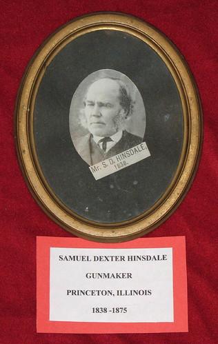 Samuel Dexter Hinsdale- Gunmaker, Princeton, Illinois