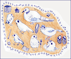 love とか dove とか by Yoshiko Oouchi