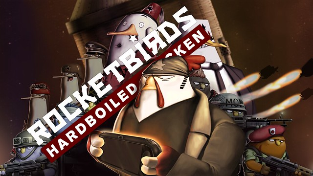 Rocketbirds on PS Vita