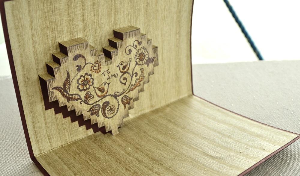 Hunk of wood-burning love