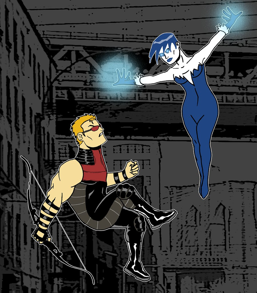 HAWKEYE VS KILLER FROST