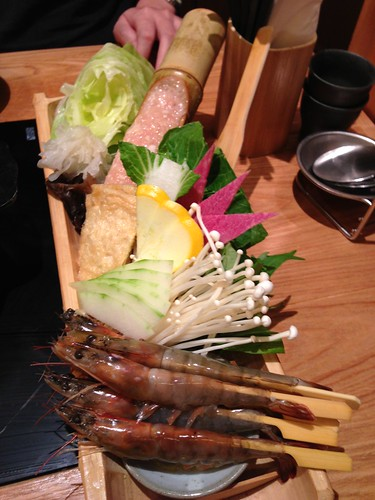 Ingredients for the Bijin Nabe