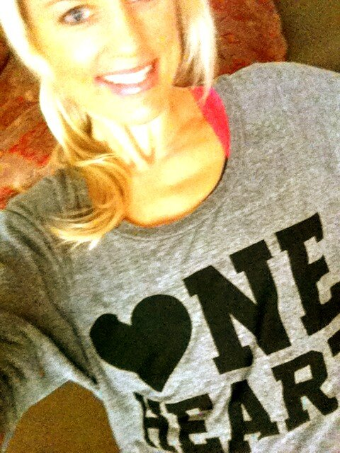 Shannon J Dougherty - One Heart Shirt
