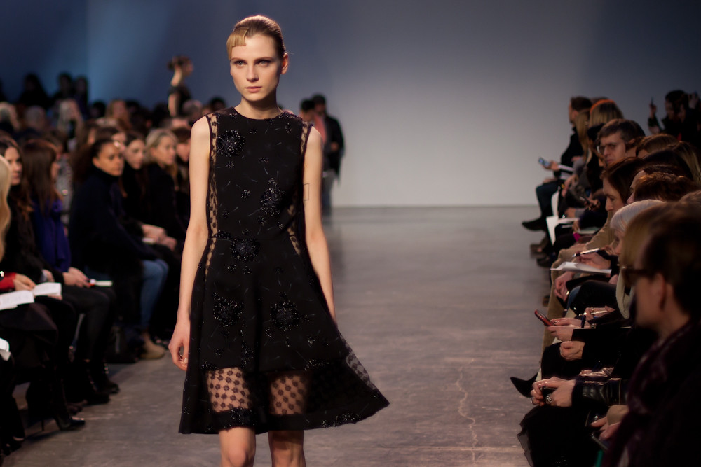 thakoon runway fall 2013 beaded dress