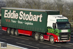 Volvo FH 6x2 Tractor - PX60 CKL - Ellie Joanne - Eddie Stobart - M1 J10 Luton - Steven Gray - IMG_0863