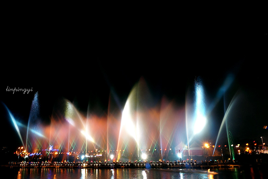 2013 高雄岡山燈會水舞煙火 <NEX-5N版>