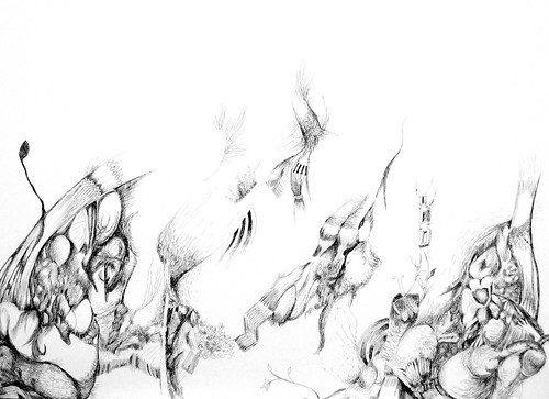 segundo - desenho a tinta da China by fernanda garrido