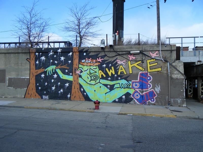 """""""Awake"""" mural"""