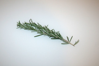 10 - Zutat Rosmarin / Ingredient rosemary