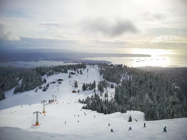 Grouse Mountain, Feb. 23, 2013