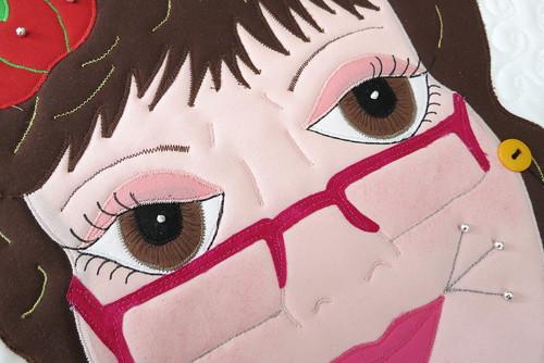 Olga's pretty eyes