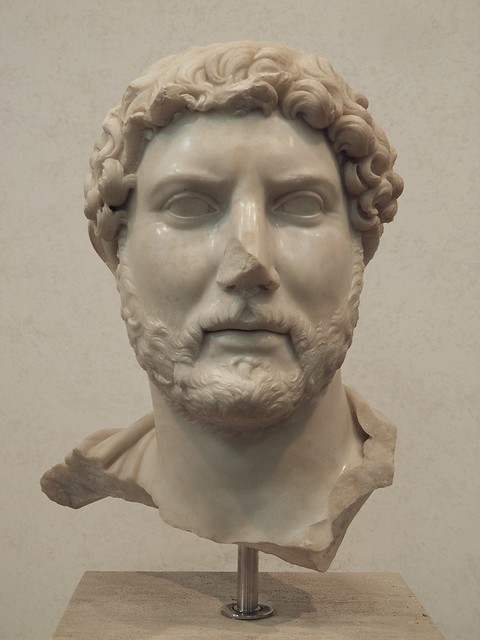 Hadrian, Dalla zona di S.Bibiana presso la stazione Termini 117-138 A.D., Palazzo Massimo alle Terme, Rome