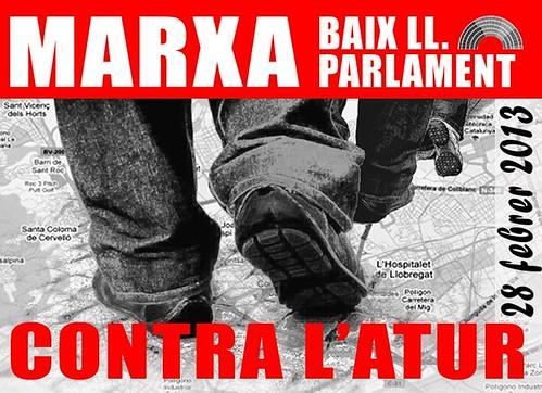 marxa contra L´atur: Baix LLobregat-Parlament