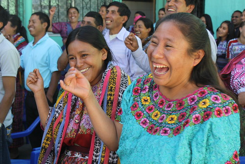 Guatemala Mother laughing